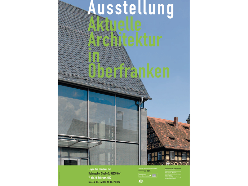 Ausstellung architektur for Aktuelle architektur